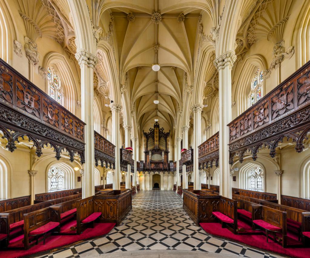 cappella reale nel castello di dublino