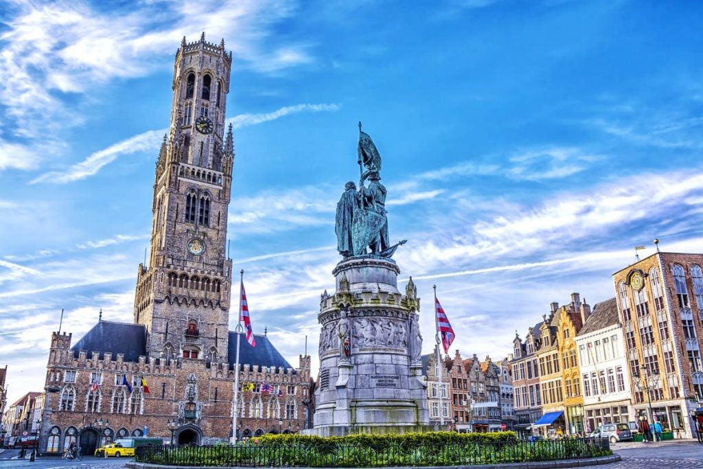 cosa vedere a bruges beffroi bruges