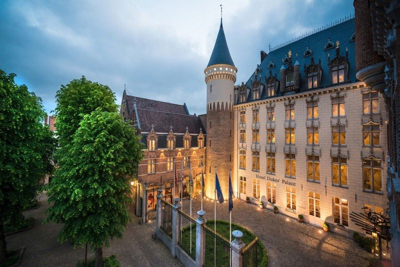 dove dormire bruges hotel_dukes_palace