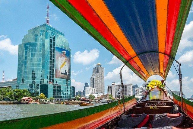 Cosa vedere a Bangkok Crociera sul Chao Phraya