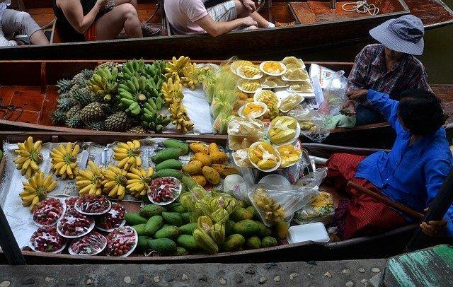 Cosa vedere a Bangkok - Mercato Galleggiante