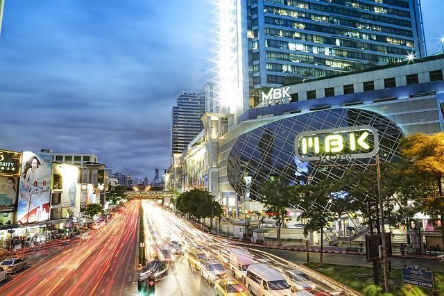 centro commerciali Bangkok