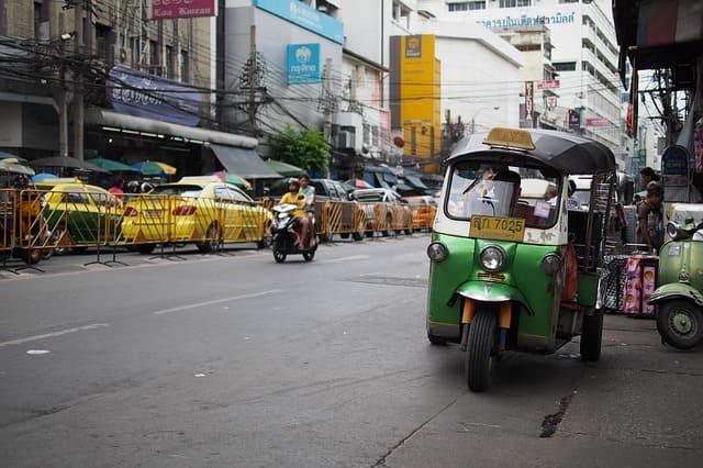 come muoversi e spostarsi in Thailandia