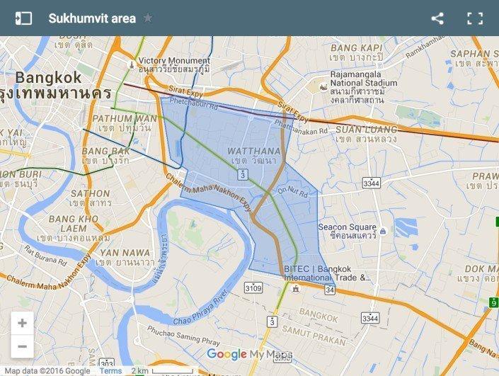 dove dormire a Bangkok Sukhumvit