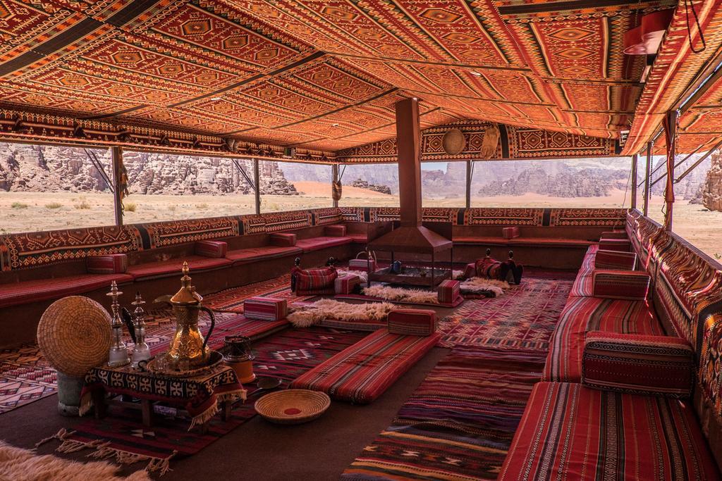 dormire nel Wadi Rum