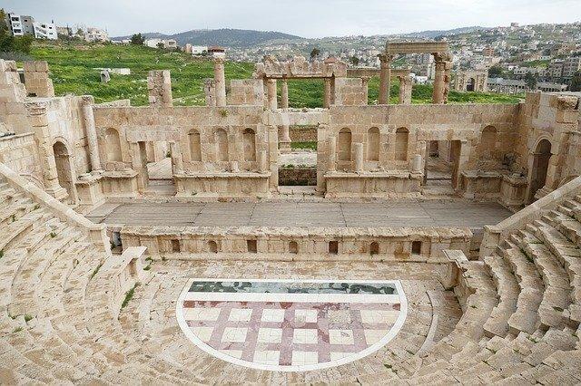 Jerash Teatro Meridionale