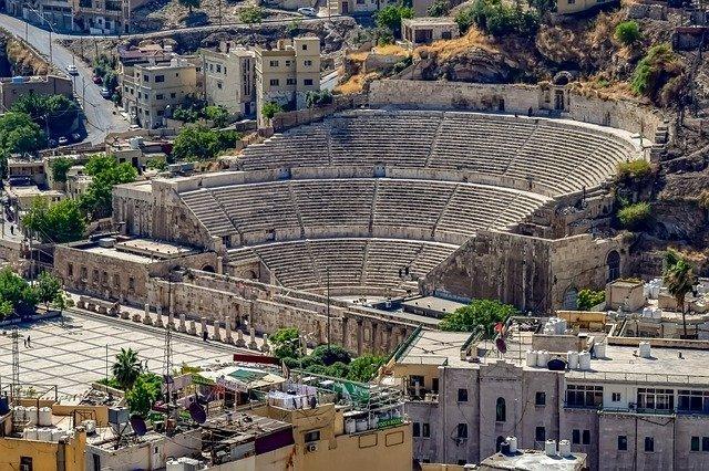 anfiteatro romano di Amman
