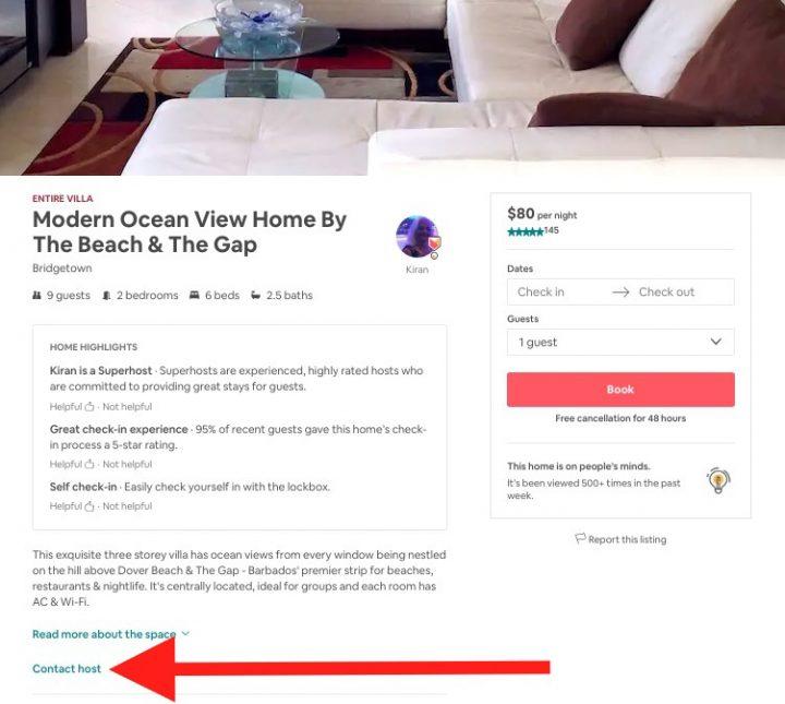sconti airbnb