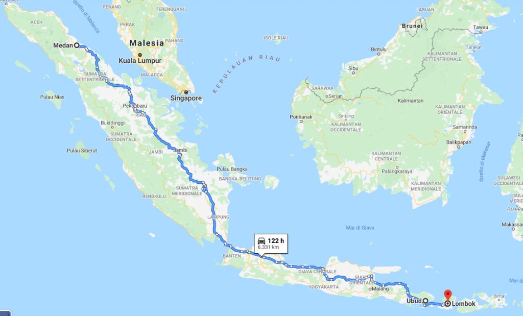 itinerario indonesia due settimane
