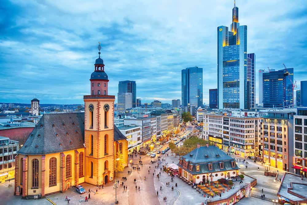 migliori zone per dormire a Francoforte