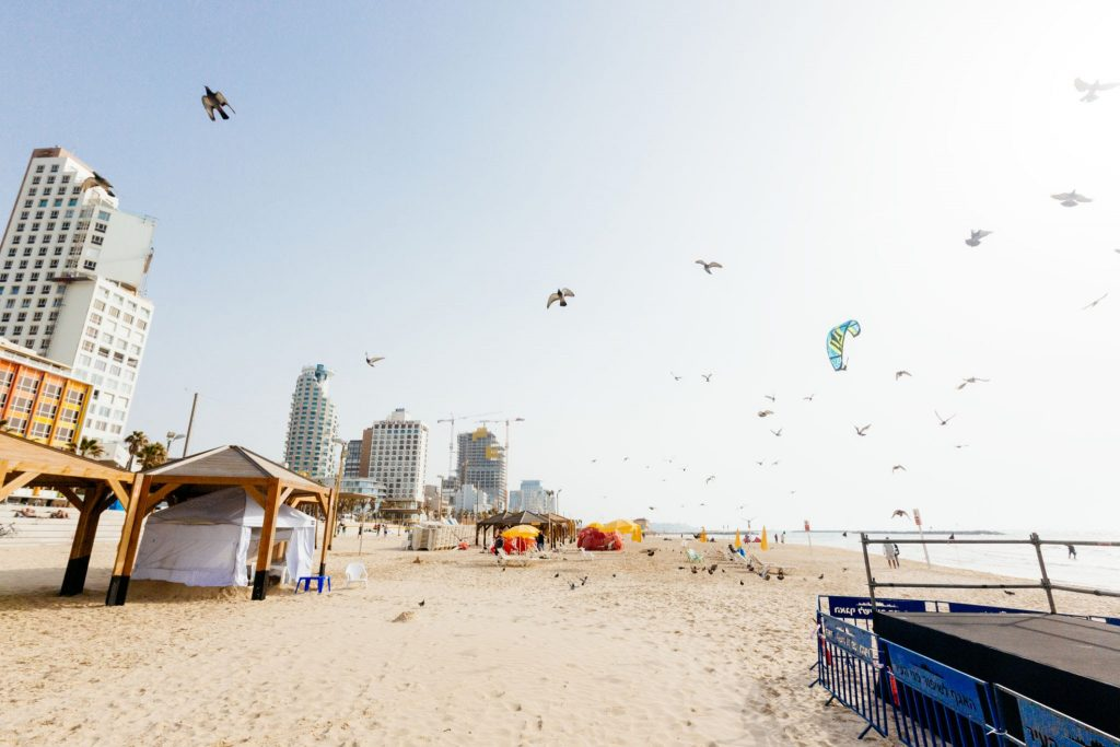 spiagge Tel Aviv