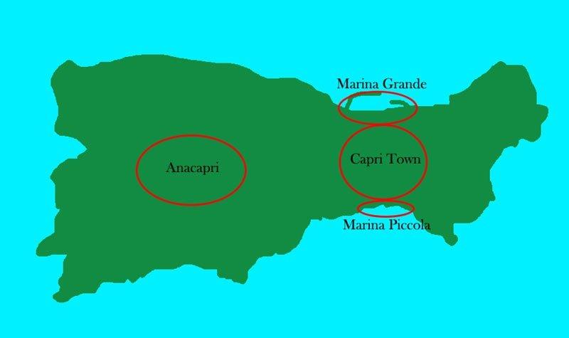 zone migliori in cui alloggiare a Capri