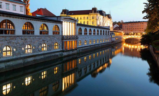 Mercato centrale di Lubiana