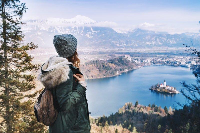 punti panoramici lago di bled