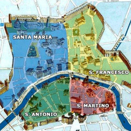 mappa quartieri pisa
